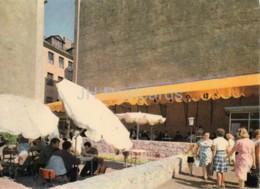 Riga - The Summer Terrace Of The Cafe Vecriga - Old Postcard - Latvia USSR - Unused - Letonia