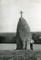 22 .20044 .rostrenen .le Menhir Ker Alin .cpsm . - France