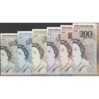 TWN - PITCAIRN ISLANDS (private Issue) - 5-200 Dollars 2019 Polymer - Queen Elizabeth II - Set Of 6 UNC - Non Classificati