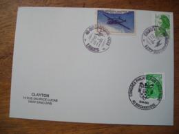 2011 Congrès Philatélique D'Aquitaine Biscarross Landes, Timbres Roulette, Post Aerienne - Poststempel (Briefe)