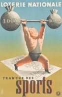 @@@ MAGNET - Loterie Nationale, Sports, Weightlifting - Pubblicitari
