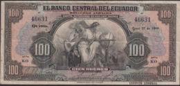 Ref. 819-1241 - BIN ECUADOR . 1949. ECUADOR 100 SUCRES 1949 - Ecuador