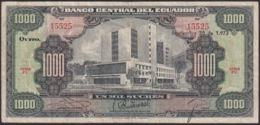 Ref. 822-1244 - BIN ECUADOR . 1973. ECUADOR 1000 SUCRES 1973 - Ecuador