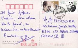 """CHINE CHINA : Divers Dont Panda Sur Carte Postale De """" Mahmud Kashgaria Tomb """" - 1949 - ... République Populaire"""
