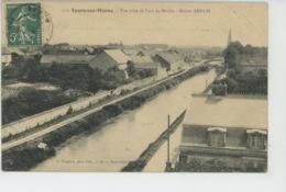 TOURS SUR MARNE - Vue Prise Du Haut Du Moulin - Maison AMELIN - Autres Communes