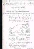 LA POSTE EN TERRE ADELIE 1949-1953: 49 Pages Photocopiées. - Colonies Et Bureaux à L'Étranger