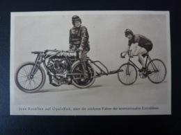 Jean Rosellen Köln Auf Opel Rad Motorrad Steher Cyclisme Radrennen Radsport  Cycling Velo Wielrennen - Cyclisme