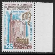 Yvert 1566 Maury 1566 - 25 C Tour De Constance - Bord De Feuille** - France