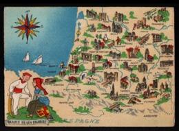 Barré Dayez, ILLUSTRATEUR , Carte N°1259 L, Basque Bearn Bigorre - Other Illustrators
