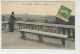 MEUDON - La Terrasse - Panorama Vers Paris - Meudon