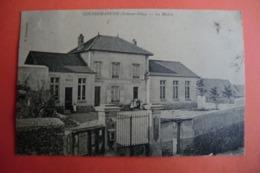CPA 95 VAL D OISE COURDIMANCHE. La Mairie. 1904. - Altri Comuni