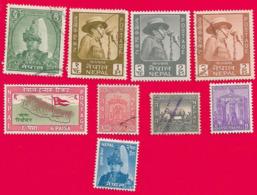 4386  --  NEPAL - Lot De Timbres Neufs & Oblitérés - Népal