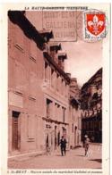 GARONNE / Haute - Dépt N° 31 = SAINT BEAT 1960 (en 4 Chiffres) =  CARTE MAXIMUM + DAGUIN  ' GALLIENI / CLEF De FRANCE ' - Cartes-Maximum