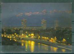 38 - GRENOBLE - L'ISERE ET LA CHAÎNE DE BELLEDONNE - Grenoble