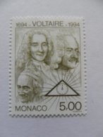 N°1962** Voltaire - Monaco