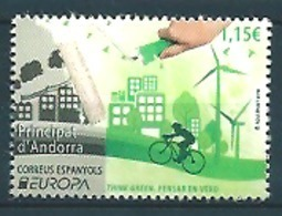 Andorra Sp. (2016) - Set -  /  Europa CEPT Europe - Velo - Moulins - Windmills - Bicycle - Europa-CEPT