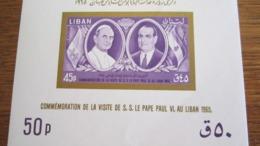 1733     LIBAN   PA 34    PAPE ROI  COTE 6.00 - Lebanon