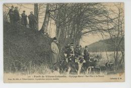 CHASSE A COURRE - Forêt De VILLERS COTTERETS - Equipage Menier - Bat L'Eau à La Ramée - Chasse