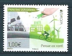 Andorra Fr. (2016) - Set -  /  Europa CEPT Europe - Velo - Moulins - Windmills - Bicycle - Europa-CEPT