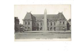 Cpa - 35 - RENNES - LE PALAIS DE JUSTICE - J. Sorel - Animation Publicité MAGGI - Rennes