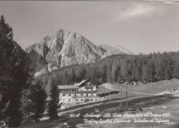 AVELENGO-MERANO-ALBERGO=ROSA ALPINA=CARTOLINA VERA FOTOGRAFIA- VIAGGIATA  NEL 1964 - Merano