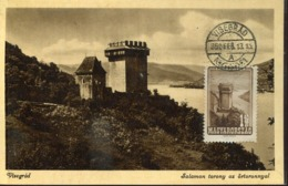 48410 Hungary,maximum  1950 Visegrad, Salomons Burg The Castle  Schloss Chateau Architecture - Tarjetas – Máximo