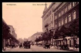 POLOGNE, Varsovie, Ulica Marszalkowska, Tramway à Chevaux - Pologne