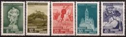 Hungria - Fx. 1607 - Yv. 519/23 - Territorios Recuperados - 1939 - * - Hongrie