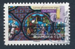 France - Art Gothique - Bourges YT A557 Obl. Cachet Rond Manuel - Adhésifs (autocollants)