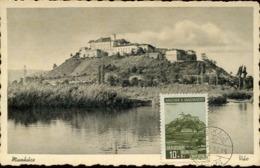 48411 Hungary,maximum 30,6,1939 Munkacs  Burg The Castle  Schloss Chateau Architecture - Tarjetas – Máximo