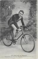 Dieudonné GAUTHY De Pepinster - Vainqueur Du TOUR DE BELGIQUE  Professionnels 1913 ( 2 SCANS ) - Radsport
