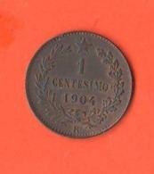 1 Centesimo 1904 Regno Italia Re Vitt. Emanuele III° - 1861-1946: Königreich