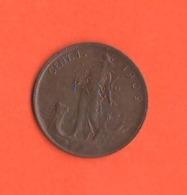 1 Centesimo 1909 Regno Italia Re Vitt. Emanuele III° - 1861-1946: Königreich