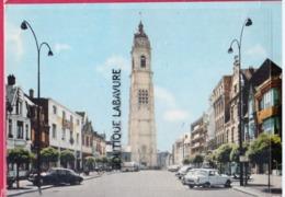 59 - CAMBRAI---Le Beffroi ----Citroën DS----Garage Renault - Voitures De Tourisme