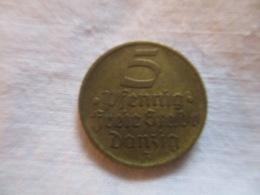 Germany: Danzig 5 Pfennig 1932 - Altri