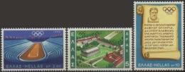 --- 1968 Grèce Y. 967 / 969** M. 989 / 991** - Neufs
