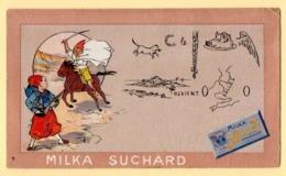 Trade Card. Chromo Milka Suchard. Série Des Rébus N° 7 - Suchard