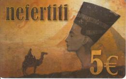 GREECE - Camel, Egypt, Nefertiti Prepaid Card 5 Euro, Sample - Unclassified
