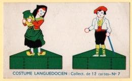 Trade Card. Chromo Révillon Mydia. Costume Languedocien. Carte N°7 - Revillon