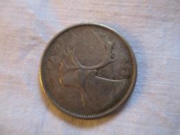 Canada 25 Cents 1955 - Canada