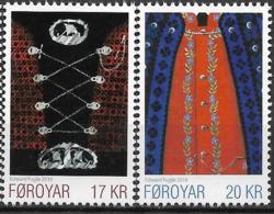 2016  Färöer Mi.  864-5**MNH   Färöische Nationaltracht - Islas Faeroes