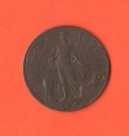 2 Centesimi 1912 Donna Su Prora Italia Re Vitt. Emanuele III° Non Comune - 1861-1946: Königreich