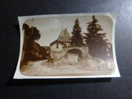 SAUVEBOEUF CHALET MODERNE DORDOGNE AQUITANIE FRANCE ANCIENNE PHOTO 1934 - Lieux
