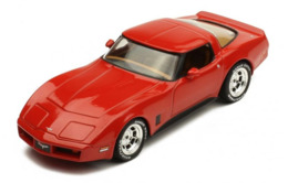 Chevrolet Corvette C3 - 1980 - Red - Ixo - Ixo