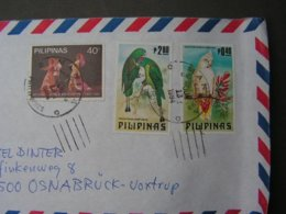 Air Mail Cv.1984 Birds - Filipinas