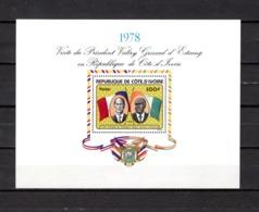 Costa De Marfil   1978 .-  Y&T Nº   9    Block - Ivoorkust (1960-...)