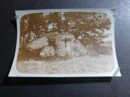 BEAUMONT DU PERIGORD DOLMEN DU BLANC DORDOGNE AQUITANIE FRANCE ANCIENNE PHOTO 1934 - Places