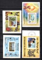 Costa De Marfil   1979-81 .-  Y&T Nº   14-15-16-18    Block - Ivoorkust (1960-...)