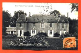 "CPA 14 Fontenay Le Pesnel "" Chateau Saint Aubin "" - France"