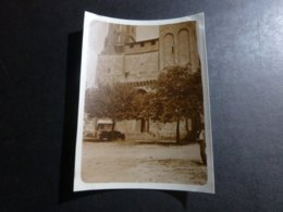 SAINT AVIT SENIEUR L'EGLISE DORDOGNE AQUITANIE FRANCE ANCIENNE PHOTO 1934 - Places
